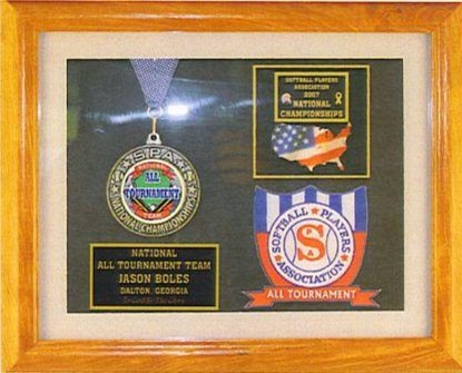 Picture of All Tournament Custom Frame Award