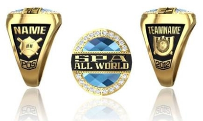 Picture of Women's All-World Player Ring/Pendant