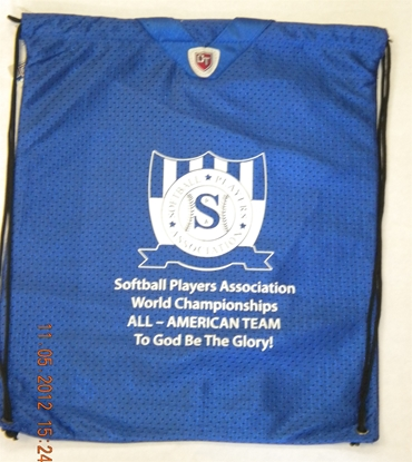 Picture of World Championship All-American Bag (Blue)