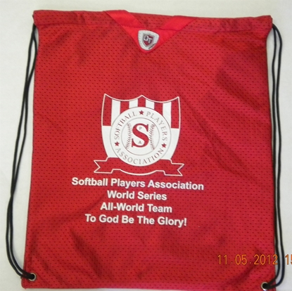 Picture of World Series All-World Bag (Red)