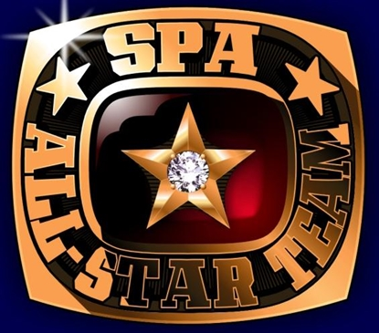 Picture of All Star Ring or Pendant w/Star Crest & 1 Cubic Zirconia