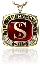 Picture of All Tournament Pendant - w/SPA Encrusted