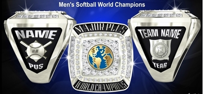 Picture of World Champion Ring or Pendant w/ World (2XX7)