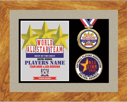 Picture of All-Star Custom Frame Award