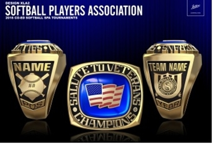 Picture of Salute to Veterans NIT Ring or Pendant w/Encrusted US Flag