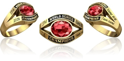 Picture of Women's World Series Champion Ring SMS1