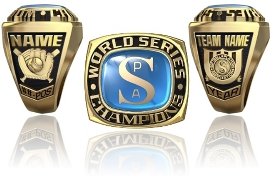 Picture of World Series Ring or Pendant w/Encrusted SPA